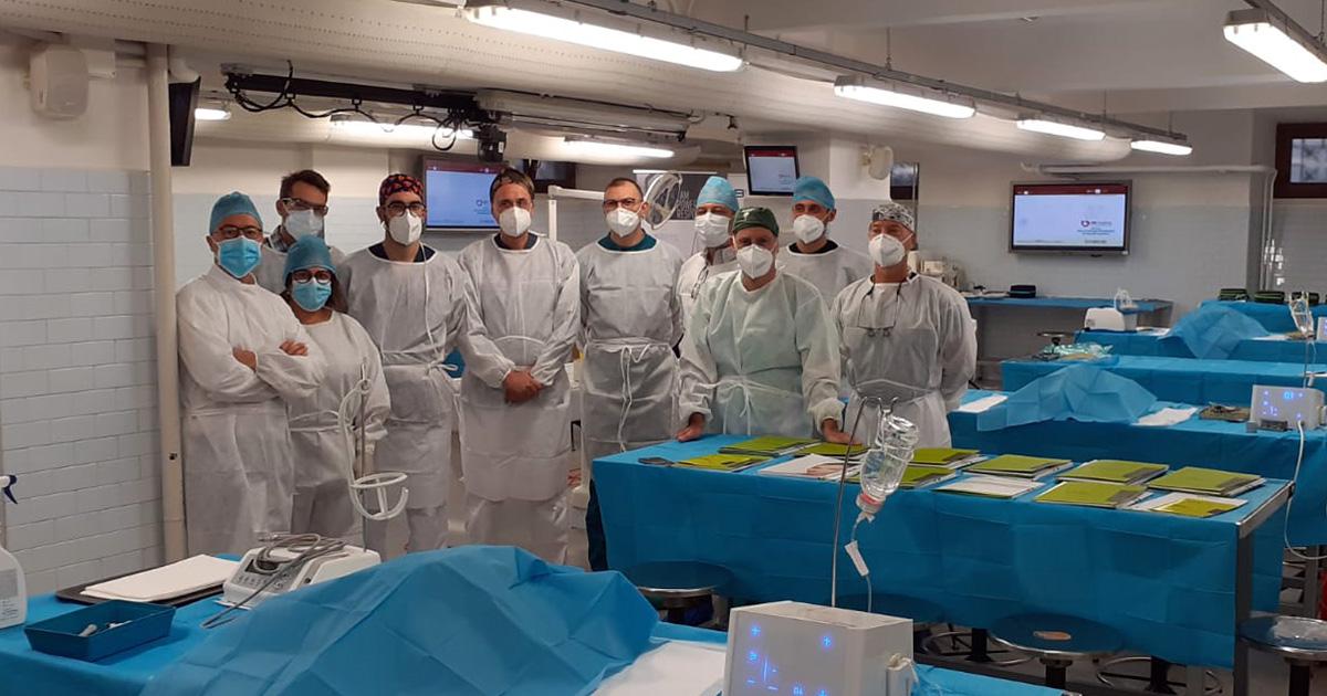 Corso di Chirurgia Perimplantare su Preparato Anatomico